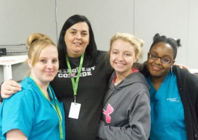 MedQuest Medical Assistant Students and Instructor