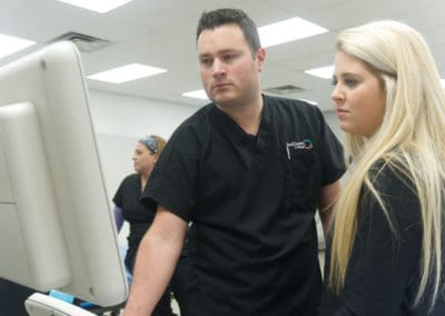 Diagnostic Sonography Students