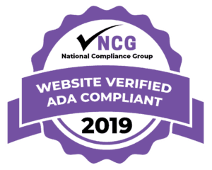 National Compliance Group Website Verified ADA Compliant