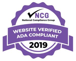 National Compliance Group Website Verified ADA Compliant