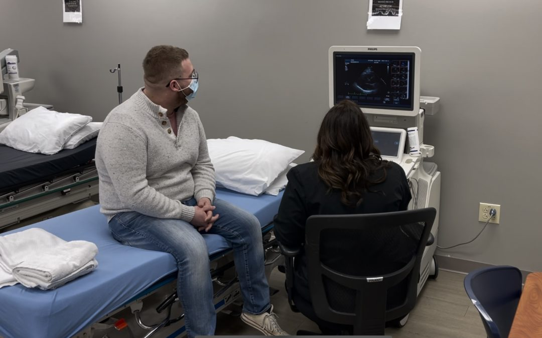 Sonography Training Program Student Saves Life